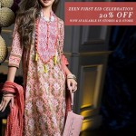Zeen by Cambridge Eid Embroidered Collection 2014