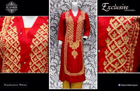Al Karim Exclusive Dresses Collection 2014
