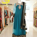 Azleena Faisal new wedding dress collection 2014 4