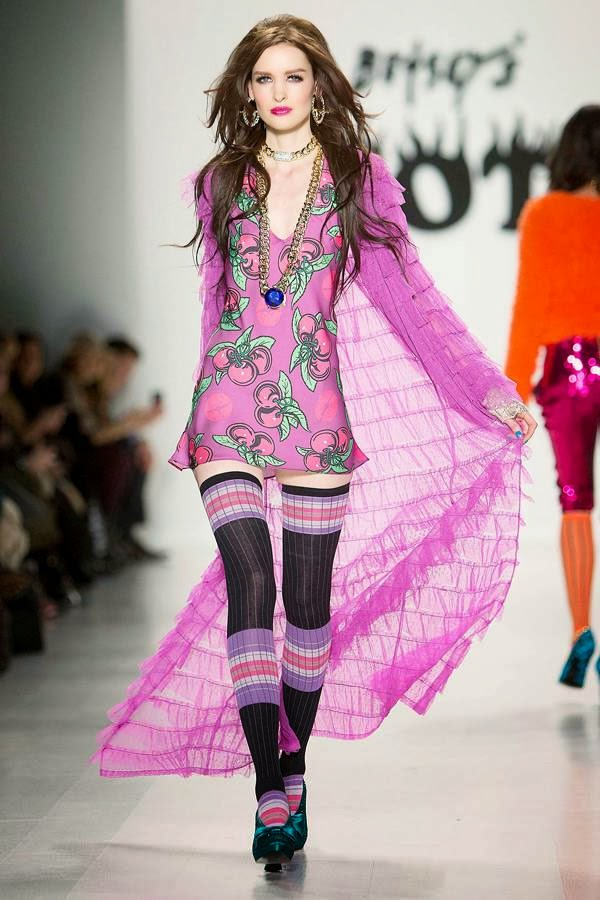 Betsey Johnson Amazing York Fashion Week Dresses 2014 (2)