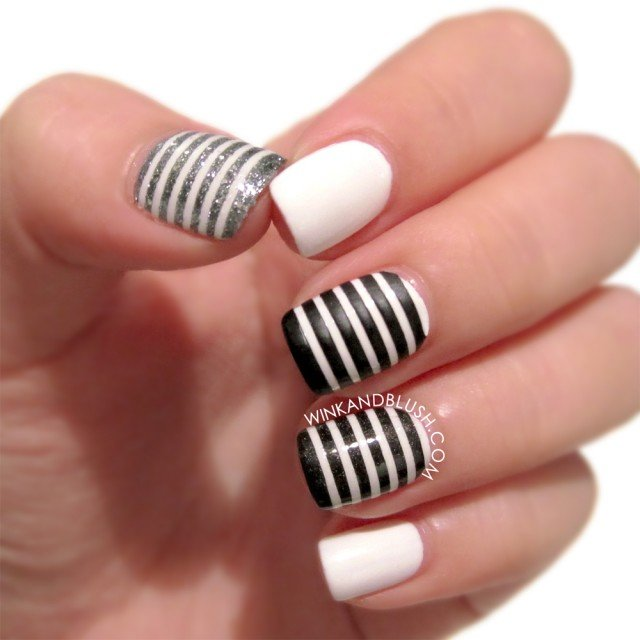 Black & White Nail Fashion Concepts 2014 (5)