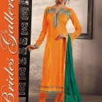 Brides Galleria Cotton Dresses Collection 2014 3