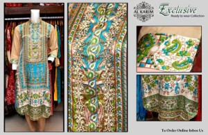 Exclusive Embroidery Stitcehd Collection 2014 2