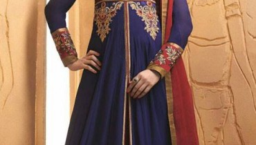 Floor Length Anarkali Dresses Colletion 2014 1