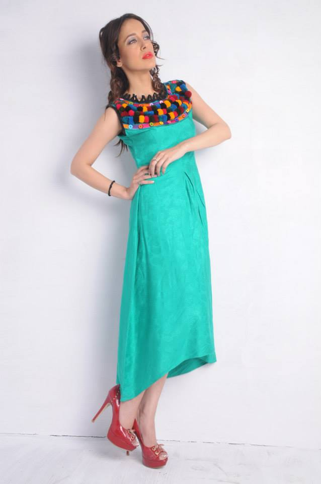 Folks n Fusion new summer dress collection 2014 5