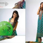 Ghani Kaka Textile Fancy Summer Wear Outfits 2014 regarding Females (3)