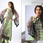 Ghani Kaka Textile New Mid Summer Dress collection 2014 10