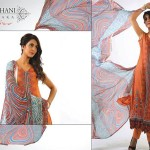 Ghani Kaka Textile New Mid Si=umer Dress collection 2014 11