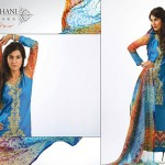 Ghani Kaka Textile New Mid Summer Dress collection 2014 4