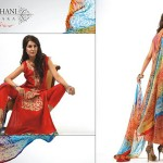 Ghani Kaka Textile New Mid Summer Dress collection 2014 5