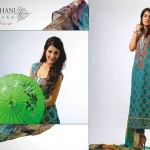 Ghani Kaka Textile New Mid Summer Dress collection 2014 6
