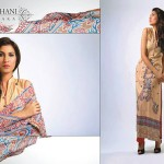 Ghani Kaka Textile New Mid Summer Dress collection 2014 8