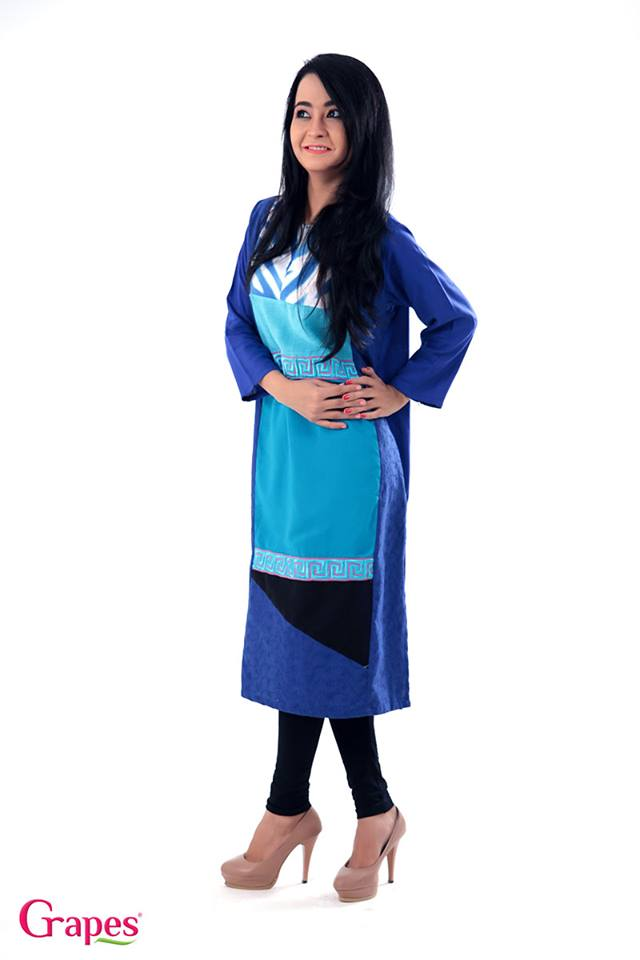 Grapes The Brand Kurta Dress Collection 2014 6
