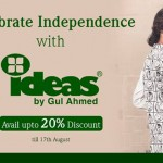 Gul Ahmed independence day dress collection 2014. 4