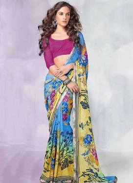 New Multicolored Indian Saree 2017 fashion in India