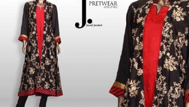 Junaid Jamshed Young Girls Suits 14 August Variety 2014 (1)