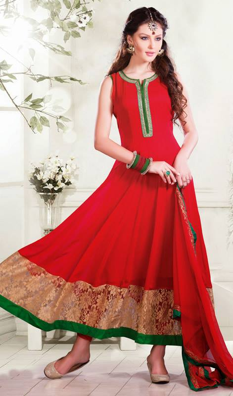 Kaneesha Shades Of Red Dresses Collection 2014 4