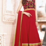 Kaneesha Shades Of Red Dresses Collection 2014 8