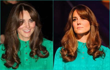 Kate Middleton Beautiful Fresh Hair Fashion (3)
