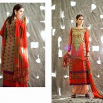 Ladies Middle Summer Time Use Selection 2014 through Shariq Fabrics (5)