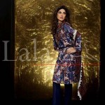 Lala's Embroidered Suits Collection 2014 2