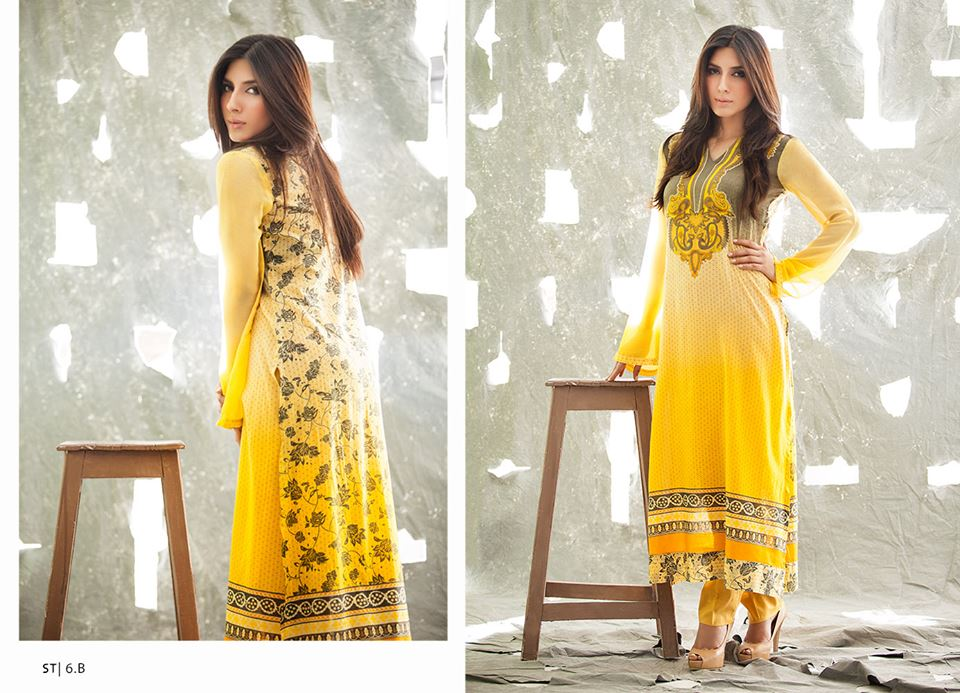 Libas Crinkle Lawn Collection 2014 For Girls 1