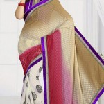 New Casual Wear Georgette Sarees Collection 2014 4