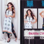 Newest Summer Selection through Sitara Textiles Rainbow Clothes 2014 (6)