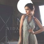 Nida Azwer Party Wear Dresses Collection 2014 7