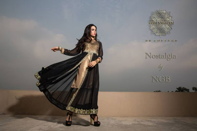 Osman Ghani Formal Dresses 2014 For Women