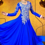 Party Wear Georgette Dresses Collection 2014 11