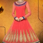 Party Wear Georgette Dresses Collection 2014 2