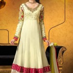Party Wear Georgette Dresses Collection 2014 3