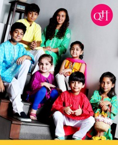 QnH ready to wear dress collection 2014 18