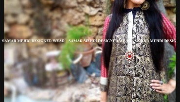 Samar Mehdi Designer Wear Mayoon Dresses Collection 2014 1