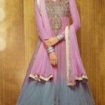 Sophisticated Floor Length Anarkali Dresses Collection 2014 5