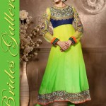 Sublime Georgette Anarkali Suits Collection 2014 2