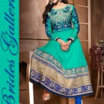 Sublime Georgette Anarkali Suits Collection 2014 4