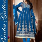 Sublime Georgette Anarkali Suits Collection 2014 5