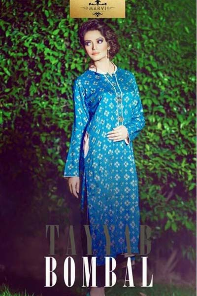 Tayyab Bombal Marvi Summer Females Attire Gallery 2014 (2)