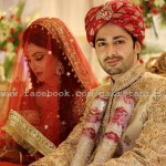 Top Celebrity Ayiza & Danish Taimoor Khan Wedding day Pic On Show (6)