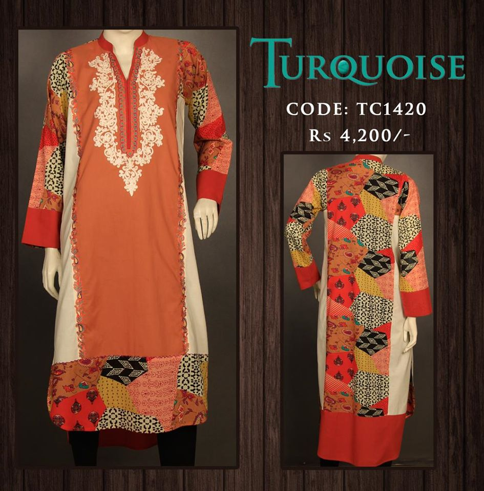 Turquoise Fantastic Summer Wear Accumulation 2014 for Ladies (5)