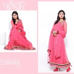 Zunaira's Lounge Party Wear Dress Collection 2014 3