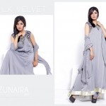 Zunaira's Lounge Party Wear Dress Collection 2014 5