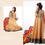 Zunaira's Lounge Party Wear Dress Collection 2014 8