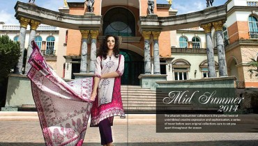 alkaram Midsummer Collection 2014 1
