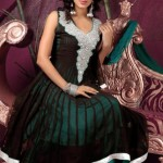 Attractive Churidar Anarkali Frock Compilation 2014 For Women (5)