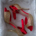 Beautiful Crystal High Heels Collection 2014 1