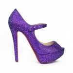 Beautiful Crystal High Heels Collection 2014 2