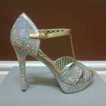 Beautiful Crystal High Heels Collection 2014 6